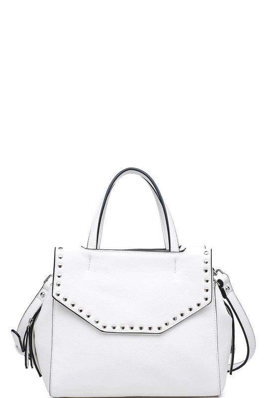 Urban Expressions - Luxury edison satchel bag