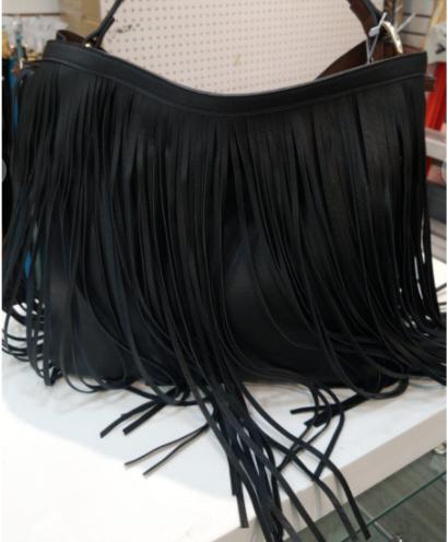 Tassel detail 2 in 1 handbag