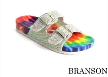 Shoe Republic - Buckle accent sandal
