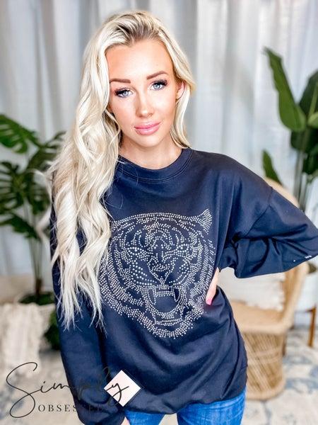 Blue Buttercup - High Quality Sweatshirts W/ Tiger Stud