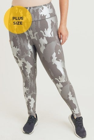 Mono B - Foil Camo Highwaist Leggings