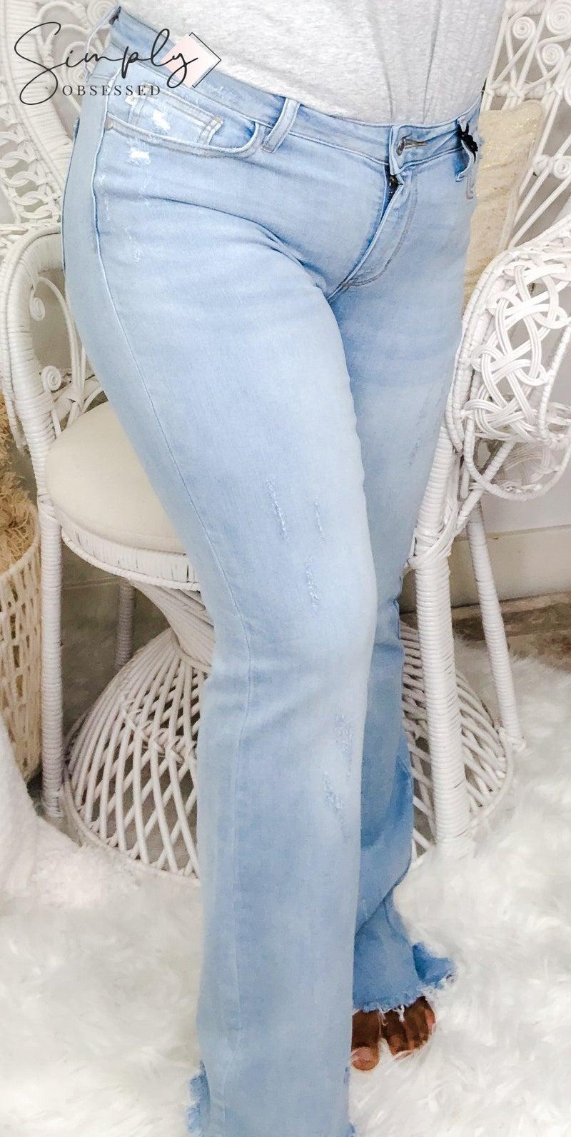Judy Blue - Boot Cut Distressed Jeans