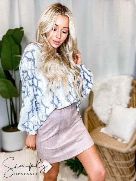 GIlli - Suede Mini Skirt