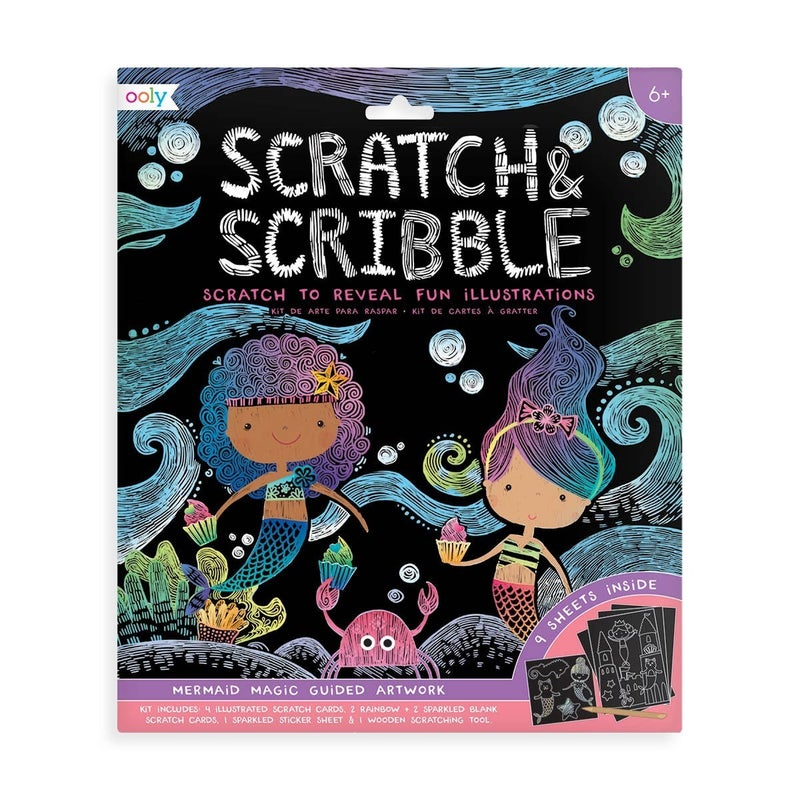 FAIRE-SCRATCH & SCRIBBLE ART KIT