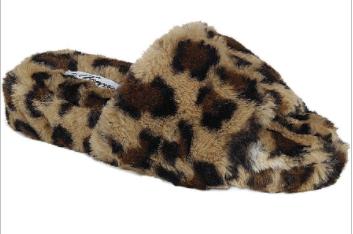 Forever - Fluffy slide sandals