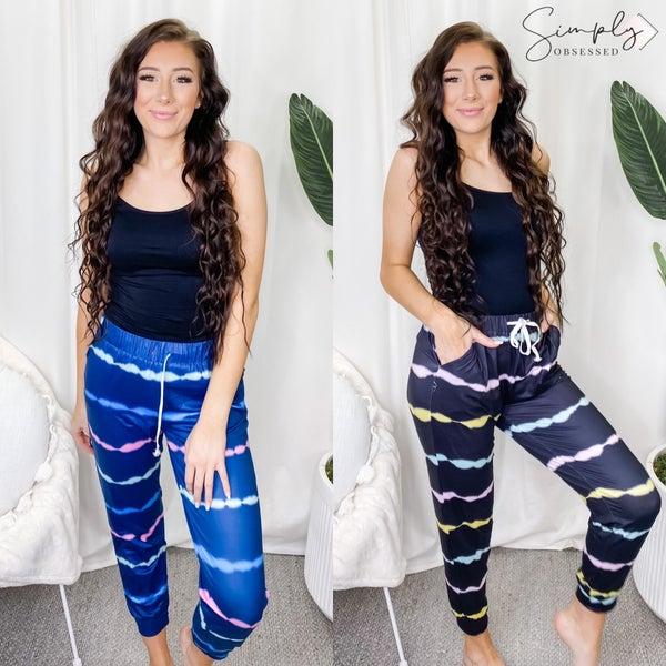 Hey Samy - Tie Dye Drawstring Pants