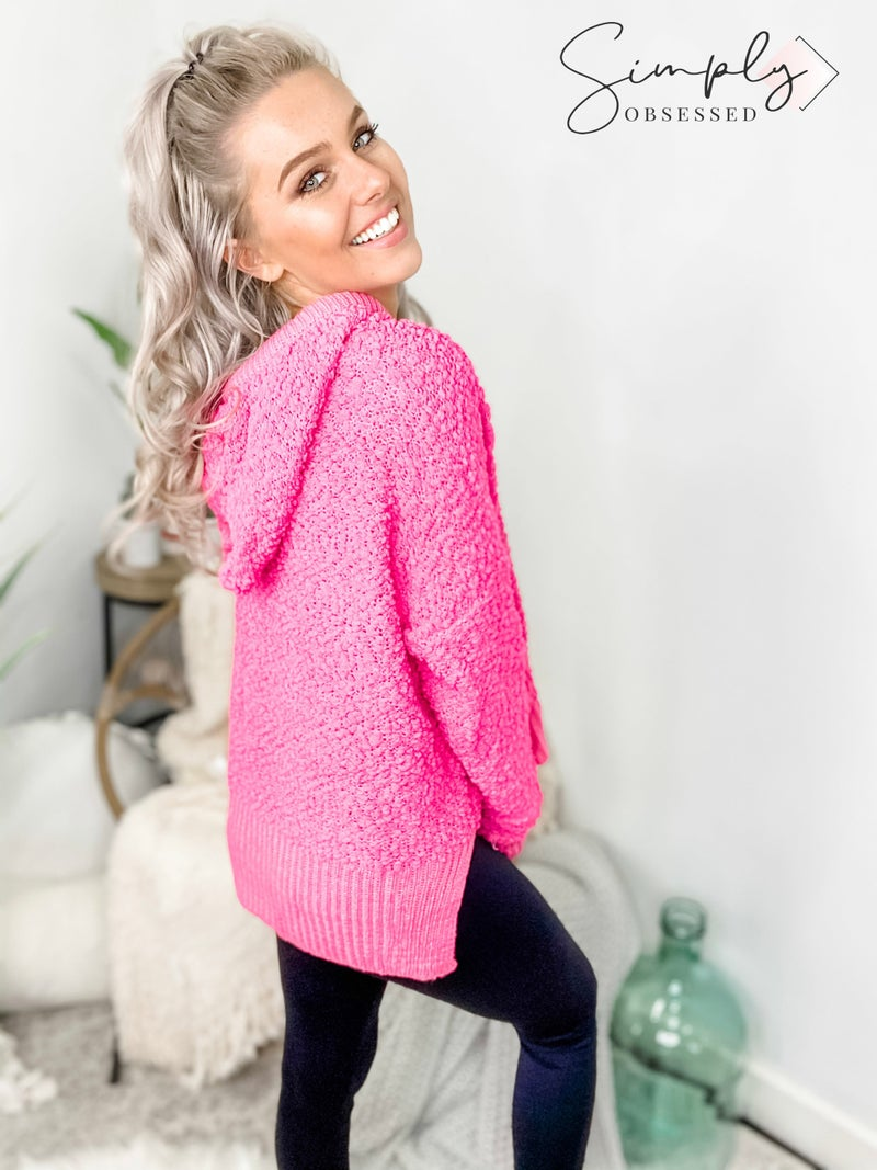 POL- Mohair pullover hoodie(plus)