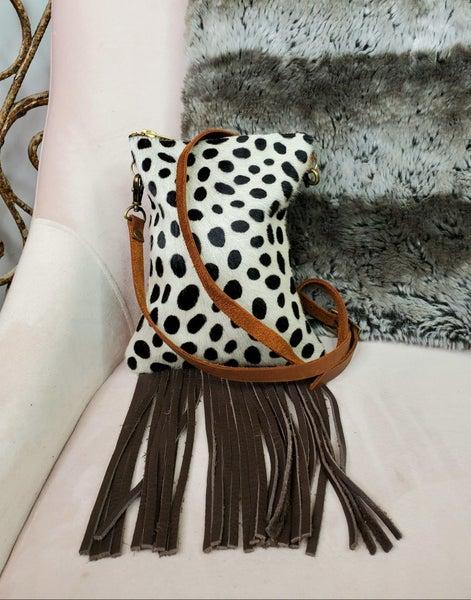 Simply Obsessed- Fringe Crossbody Handbag