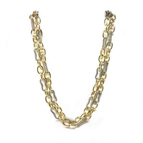 Mulit Chain Link Necklace