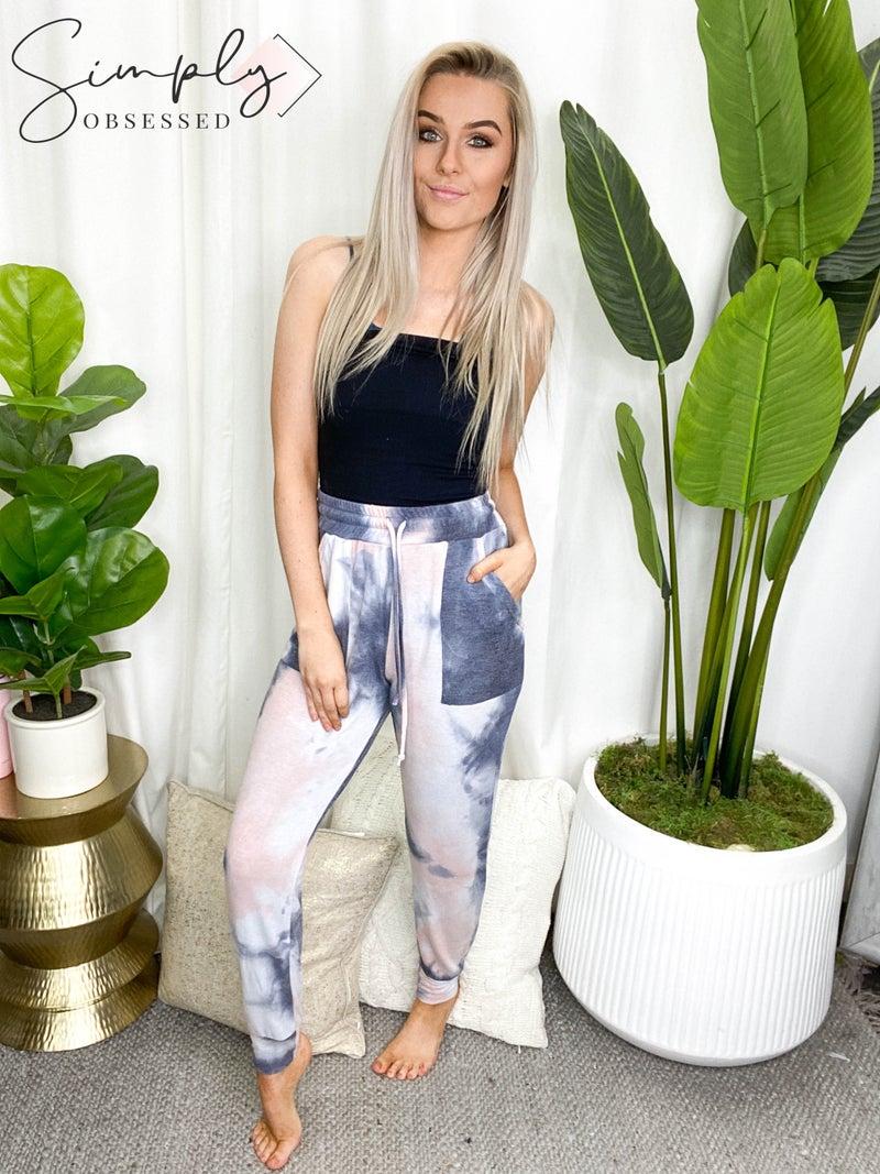 Blue B - Tie Dye Long Lounge Pants