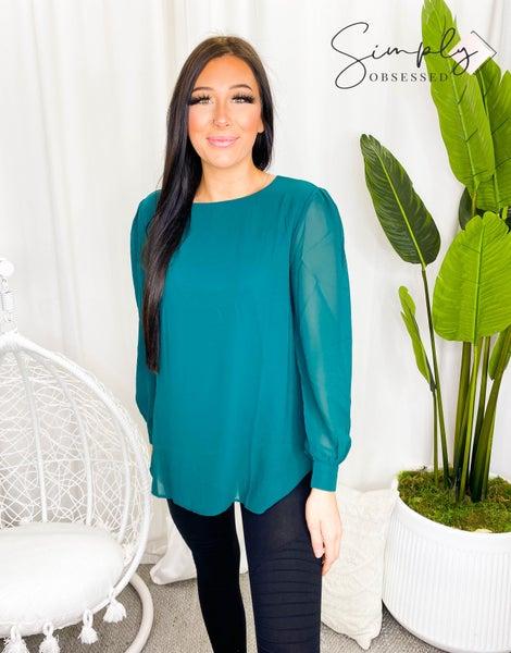 Zenana - Long Raglan Sleeve Top