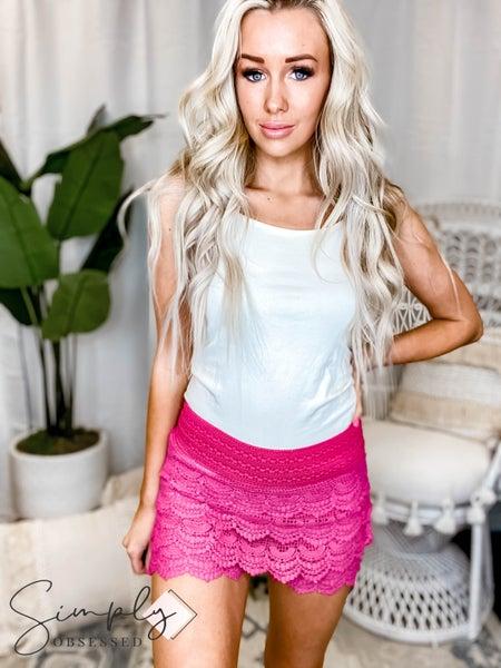 Vanilla Bay - Crocheted shorts