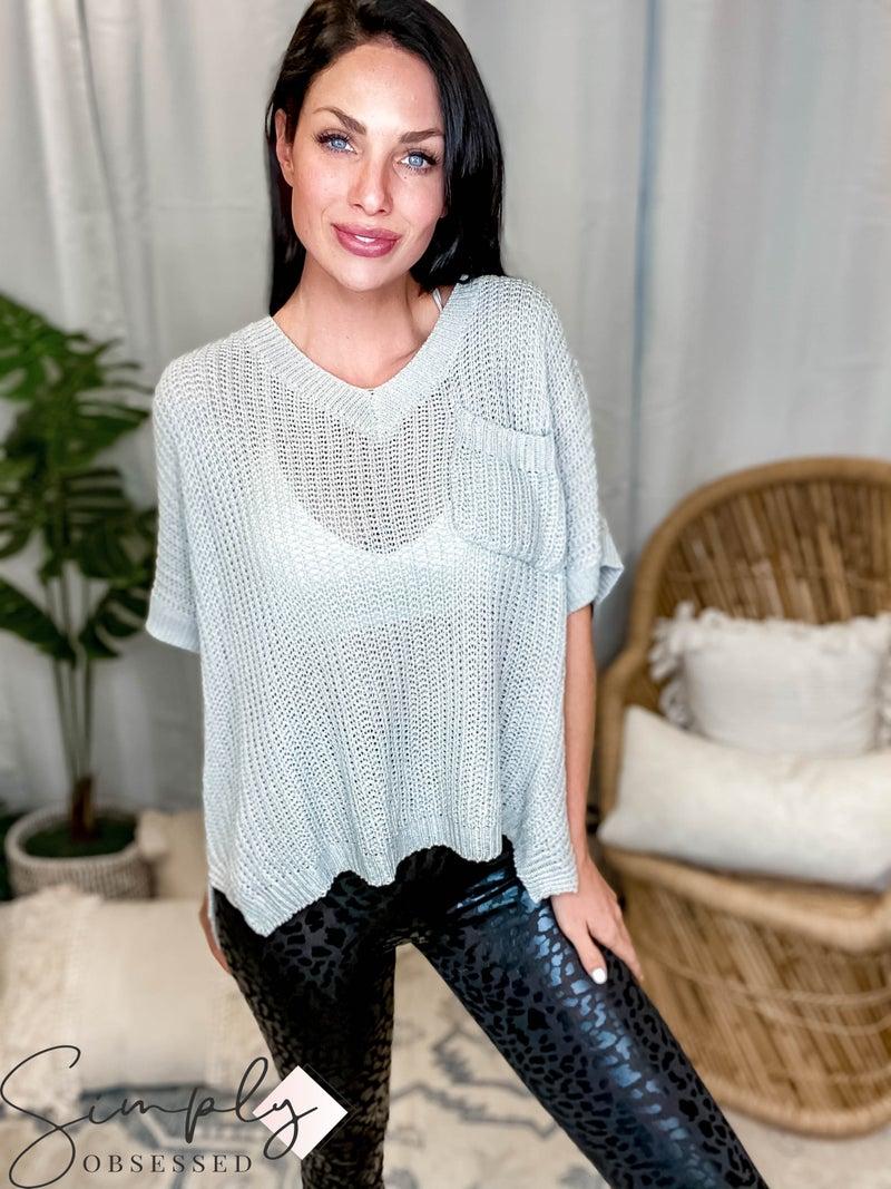 BiBi - Loose Fit Low Gauge Sweater Top