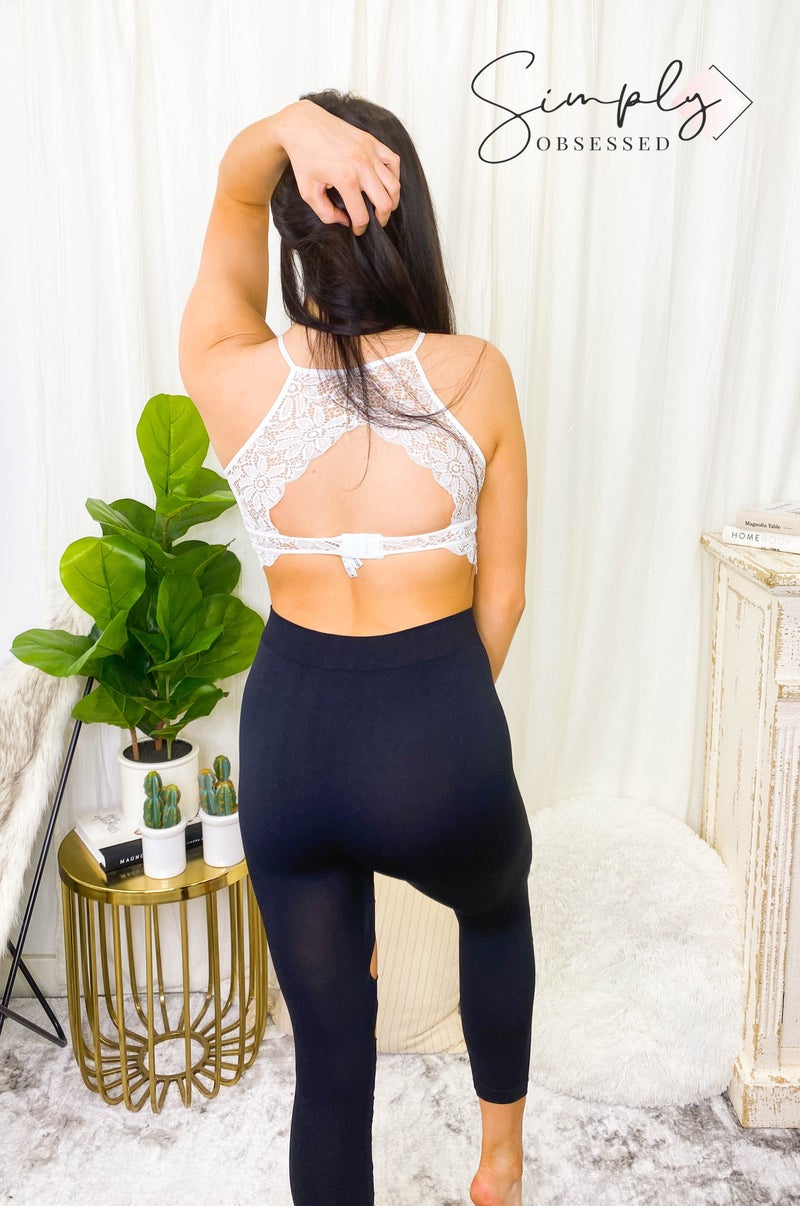 Yelete - Ripped up torn apart capri leggings