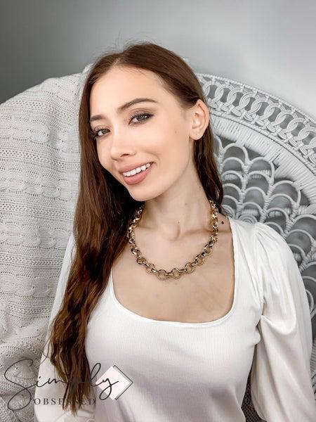 Vidda - Gold Belcher Chaine Necklace