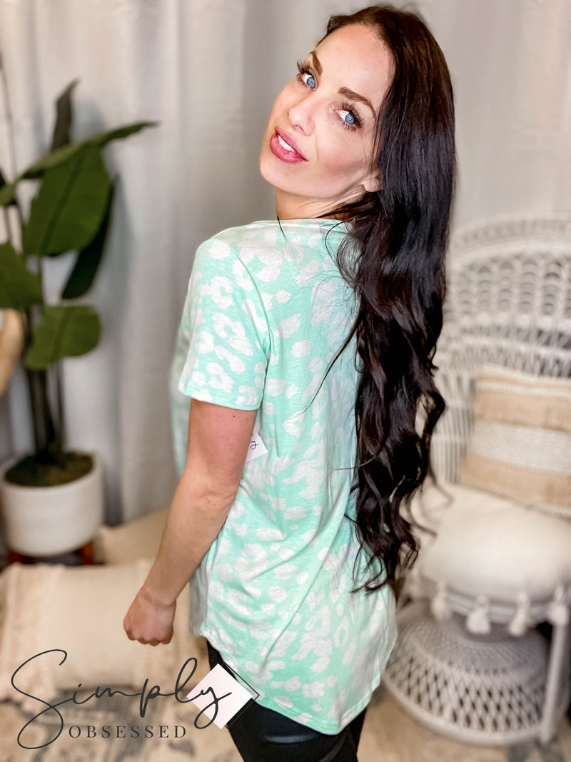 Sew In Love - Short Sleeve Round Neck Top