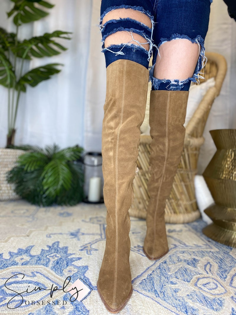 Sky High - Tall Suede Boots
