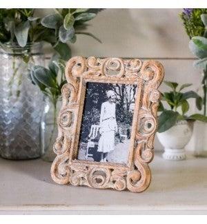VIP ATL - Embellished Wood Antique Frame 5x7
