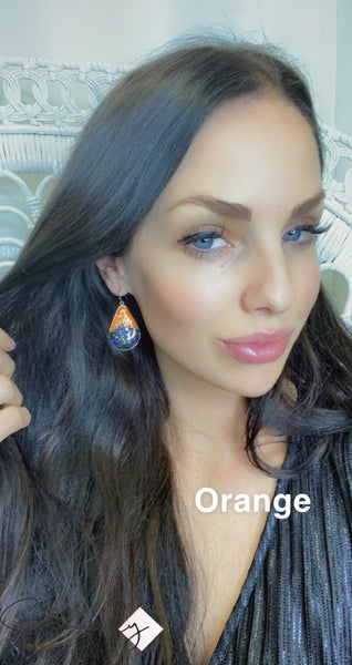 FAIRE - Framed Confetti Variation Earrings