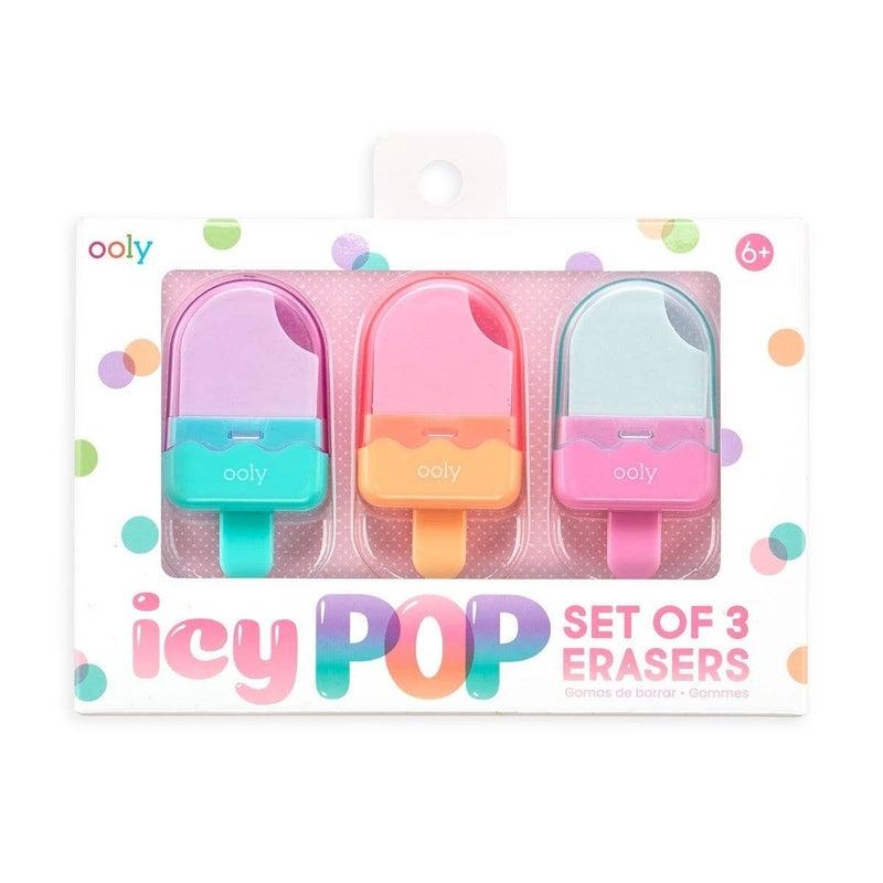 FAIRE-ICY POP ERASER SET OF 3
