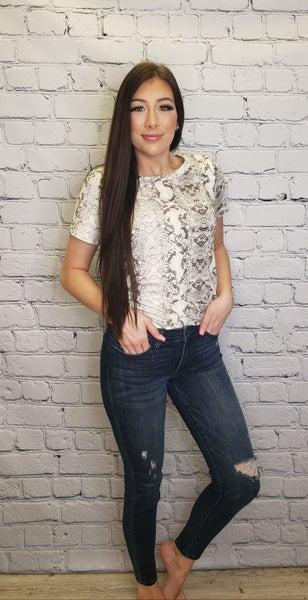 Judy Blue - Midrise skinny jeans(plus)