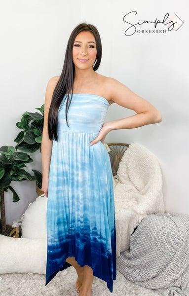 URBAN X-Ombre Tie Dye Sleeveless Dress