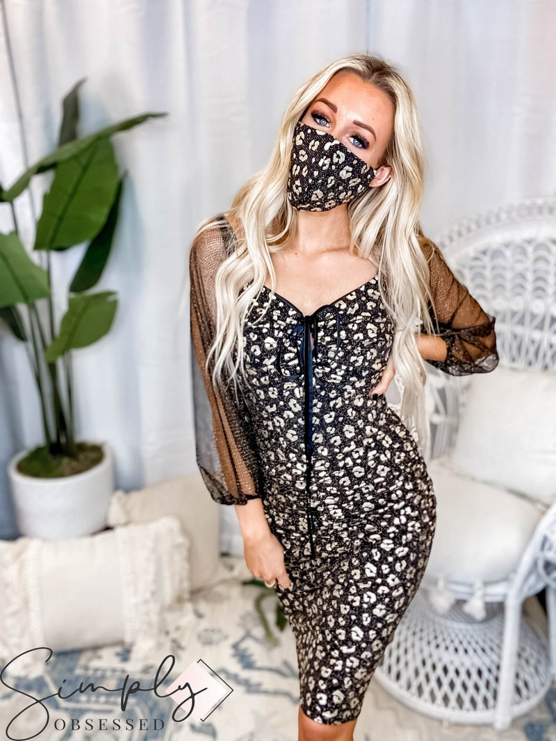 Blumin - Off shoulder rutched dotted mini dress(All Sizes)