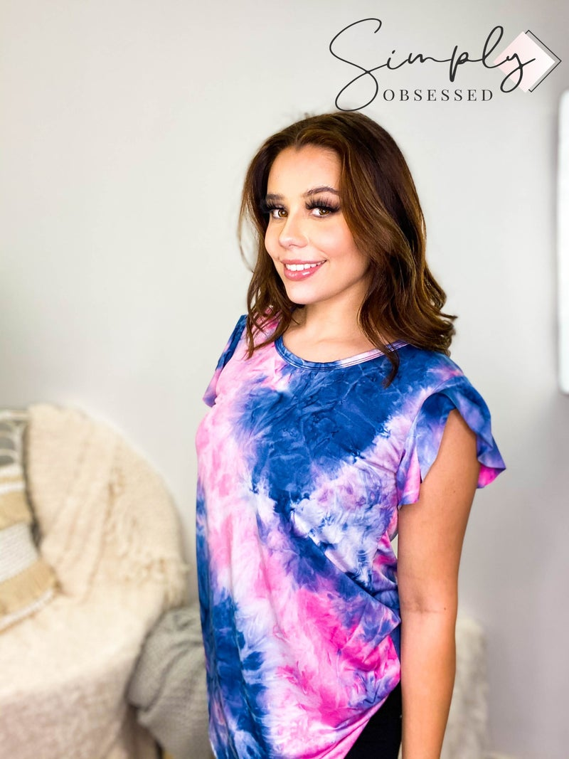 Heimish - Short sleeve tie dye top
