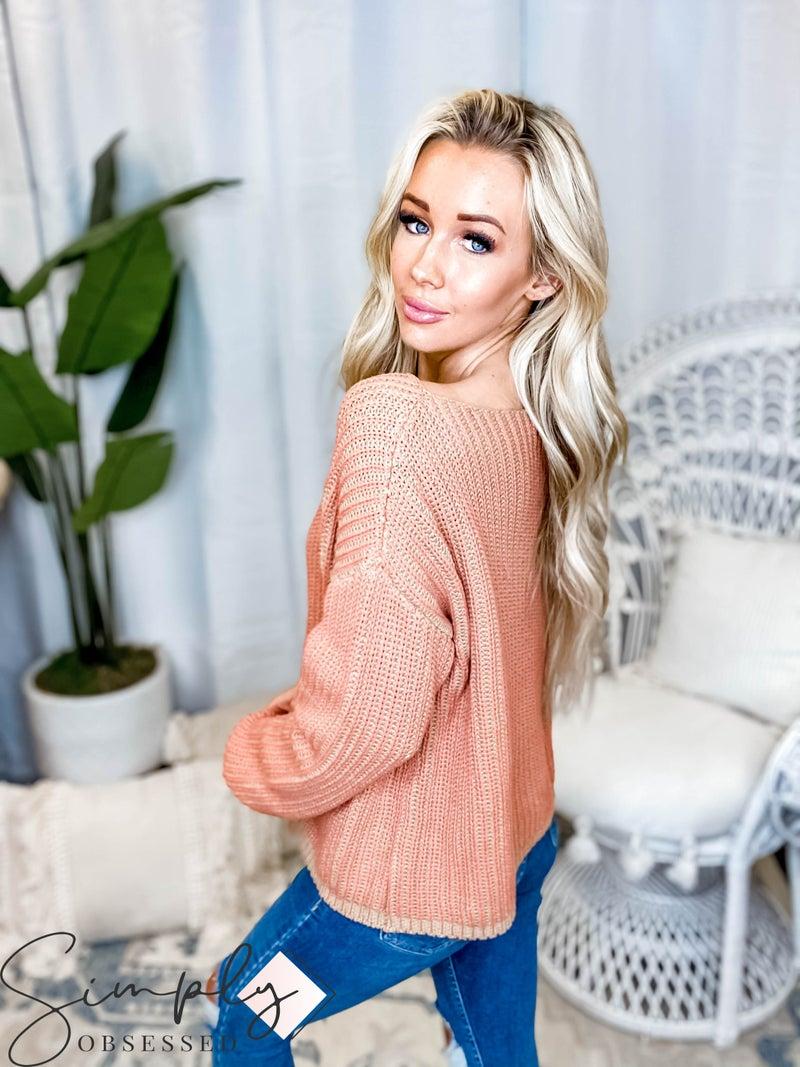 Hem & Thread - Two Ply Yarn Boxy Sweater