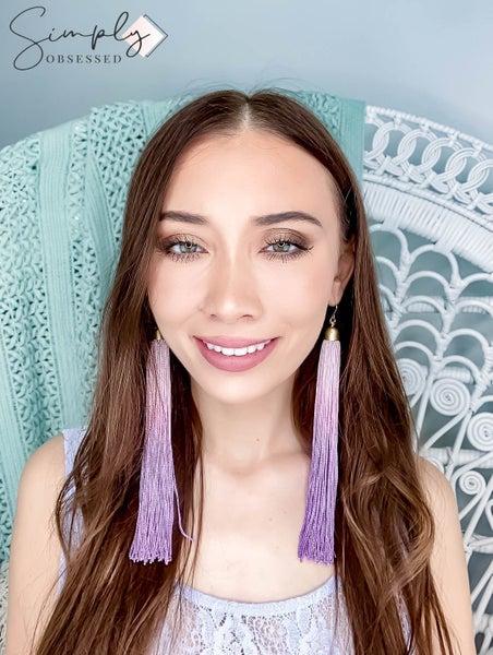 Faire - Barbie Girl Ombre Tassle Earrings