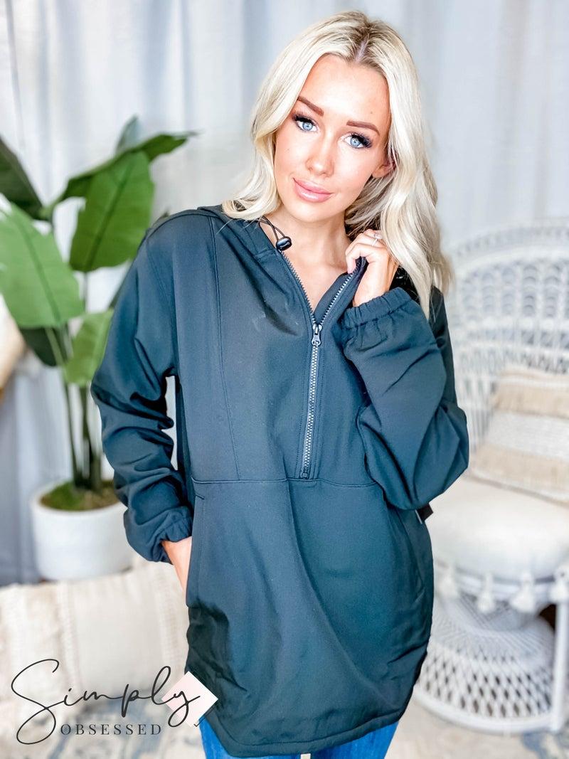 Mono B - Polar Hoodie Pullover W/ Inner Fleece