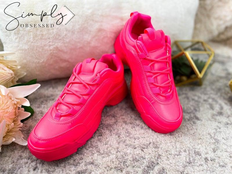 QUPID-Platform Chunky Dad Sneakers