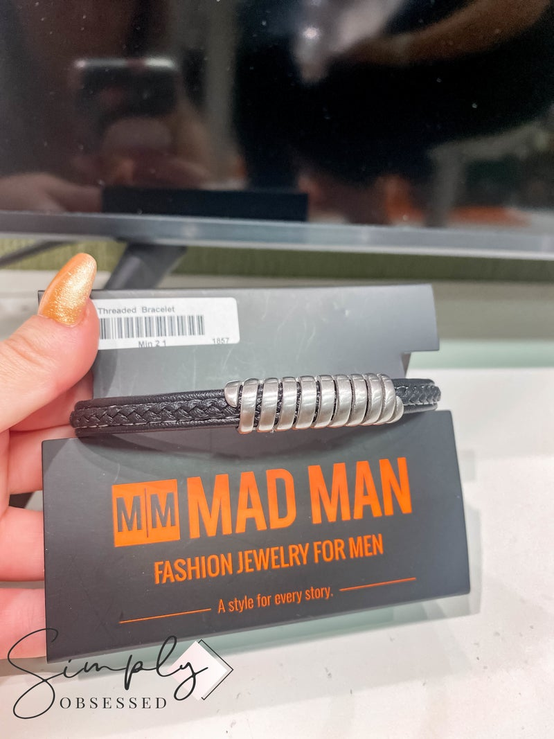 Atlanta Mad Man First Dibs Sale - Threaded Bracelet