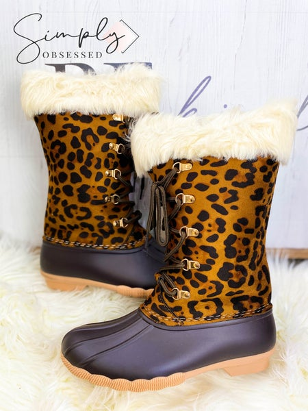 Outwoods - Faux fur trim winter boots