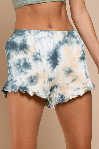 POL - French Terry Tie Dye Shorts