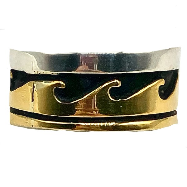 M&S - Tommy Singer Wave Ring