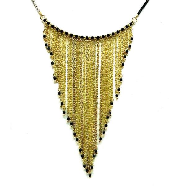 WORLD FINDS - Chandelier Bar Necklace