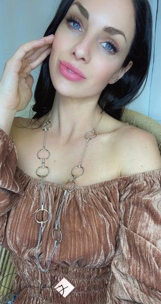 Hoop Choker Necklace