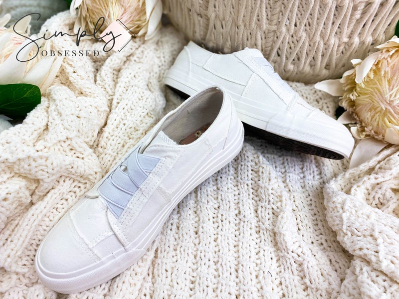 Very G - Slip On Sneakers With Elastic Band Laces