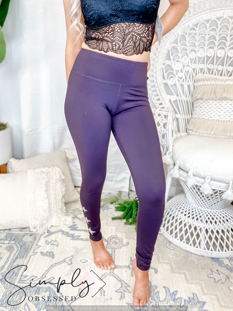 Mono B - Triple Stars Full Leggings