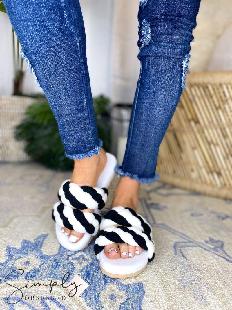 So Me - Soft strap slip on sandals