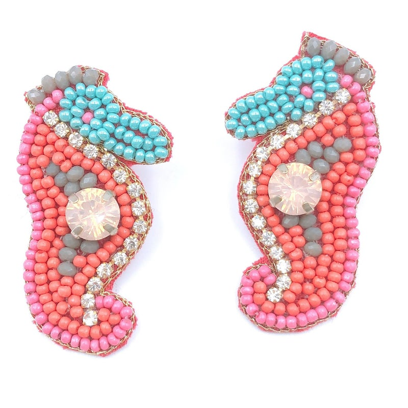 Treasure Jewels - Mini Seahorse Earrings
