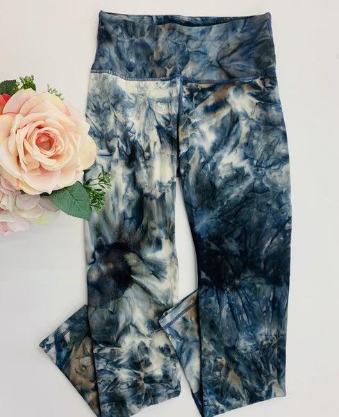 Rae Mode- Tie dye full length butter leggings with key pocket