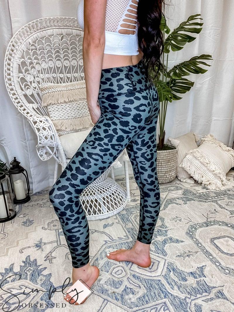 Kimberly - Leopard Print Leggings