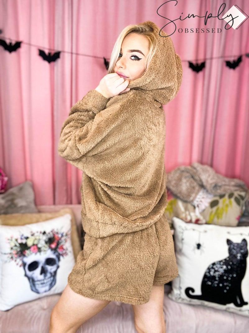 La Miel - Super Soft Cozy Sherpa Set