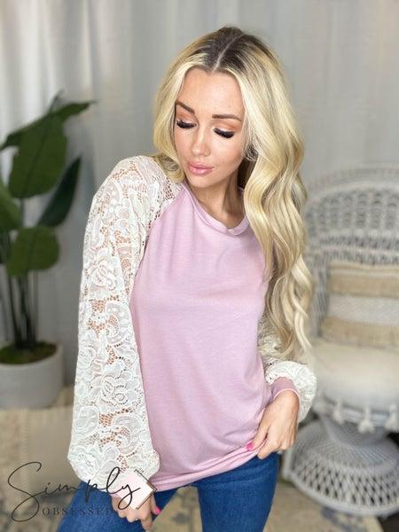 Vanilla Bay - Raglan long sleeve knit top