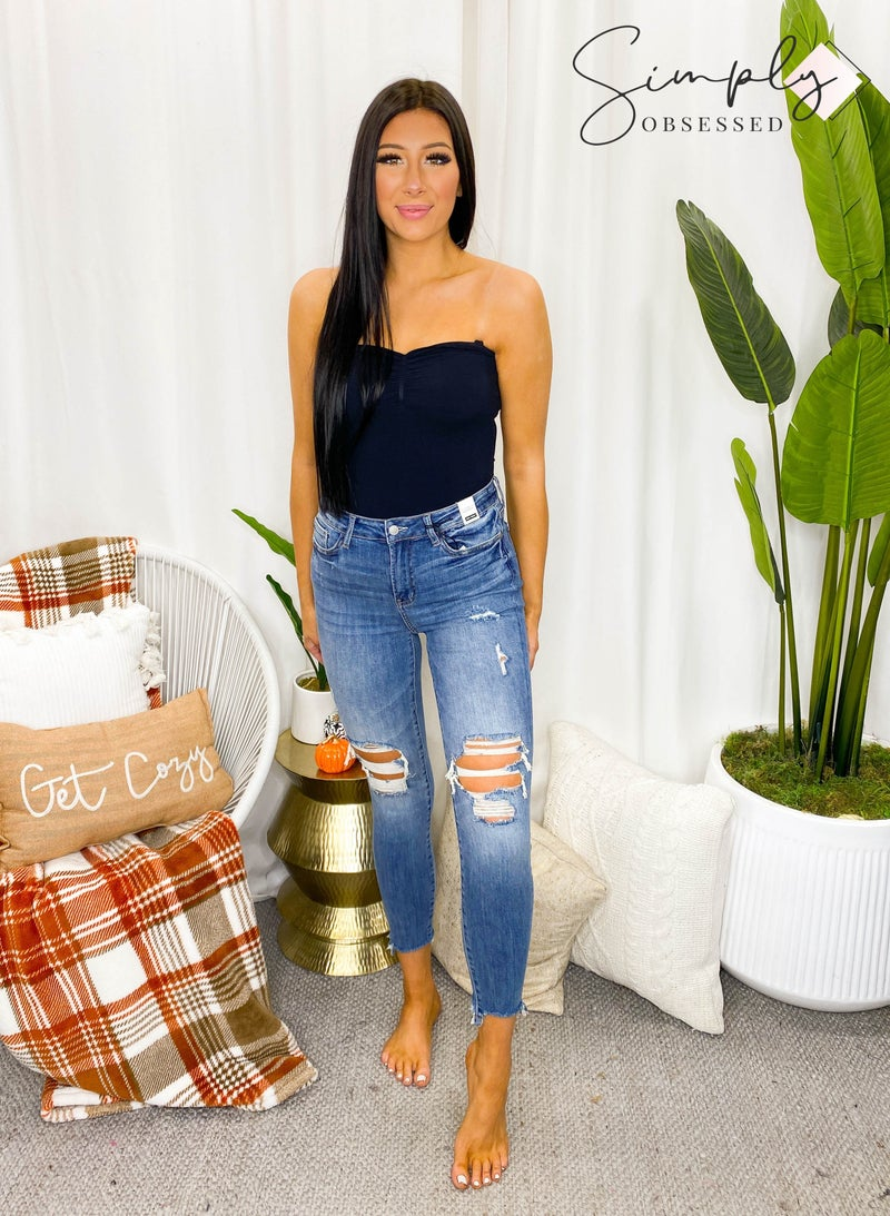 Judy Blue - Knee Destroyed Jeans