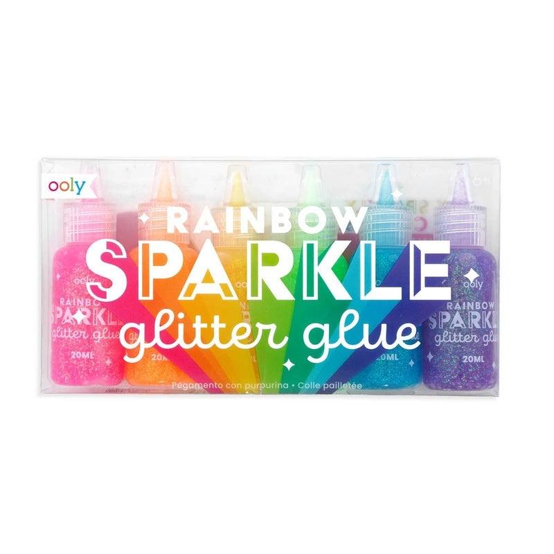 FAIRE-RAINBOW SPARKLE GLITTER GLUE