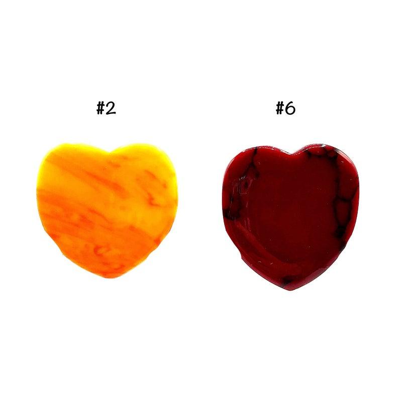 M&S - Heart Phone Stones
