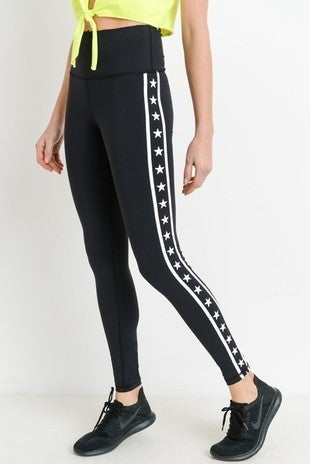 Mono B - Stars & Stripes High Waist Leggings